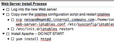 Web Server Install